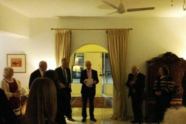 1_Συνάντηση των λειτουργών ΣΠΑΒΟ κα. Αντρόνικας Ιταλού και κα. Αννίτας Βράχα με τον Άγγλο Πρέσβη Mr. Matthew