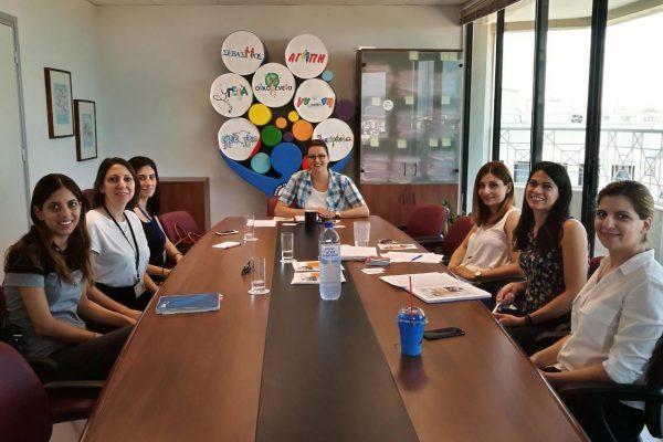 Ενημερωτική Επίσκεψη στο Γραφεiο της Επιτρόπου Προστασίας Δικαιωμάτων του Παιδιού 1