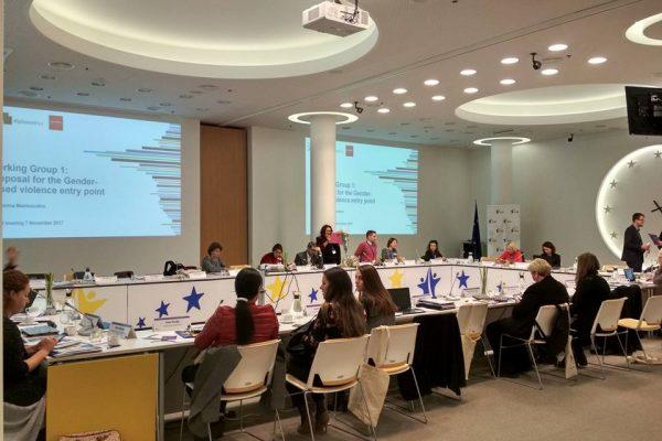 1_Συμμετοχή ΣΠΑΒΟ στο 'Experts' Meeting on European Institute of Gender Equality on Gender Statistics Database'