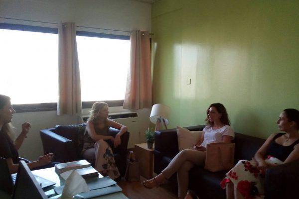 Ενημερωτική Επίσκεψη στη Συντονιστική Επιτροπή Κλάδου Σχολικής Ψυχολογίας του Συνδέσμου Ψυχολόγων Κύπρου 1